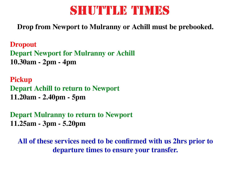 shuttletimes